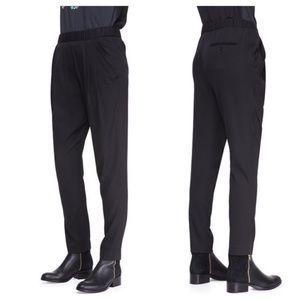 3.1 Philip Draped Pocket Trousers
